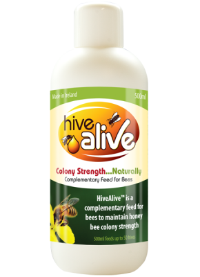500ml of HiveAlive™ activates 200 litres of syrup.